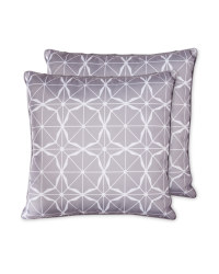Tiled Outdoor Cushion 2 Pack