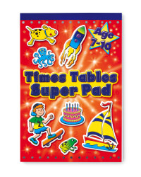 Times Table Super Pad