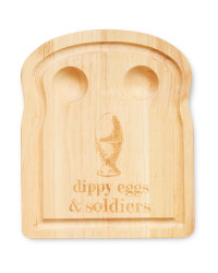 Toast Dippy Egg Brunch Serving Board