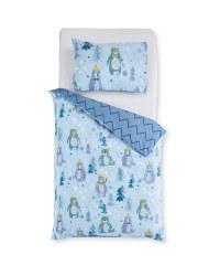 Blue Bear Toddler Duvet Set
