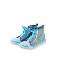 Toddler Girl's Canvas High-Tops