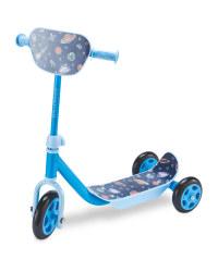 Crane Toddler Scooter - Blue