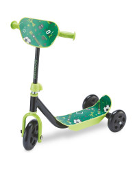 Crane Toddler Scooter - Green/Black