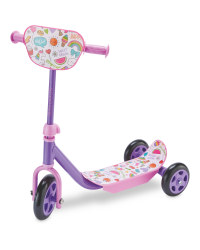 Crane Toddler Scooter - Pink/Purple