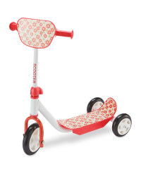 Crane Toddler Scooter - Red/White