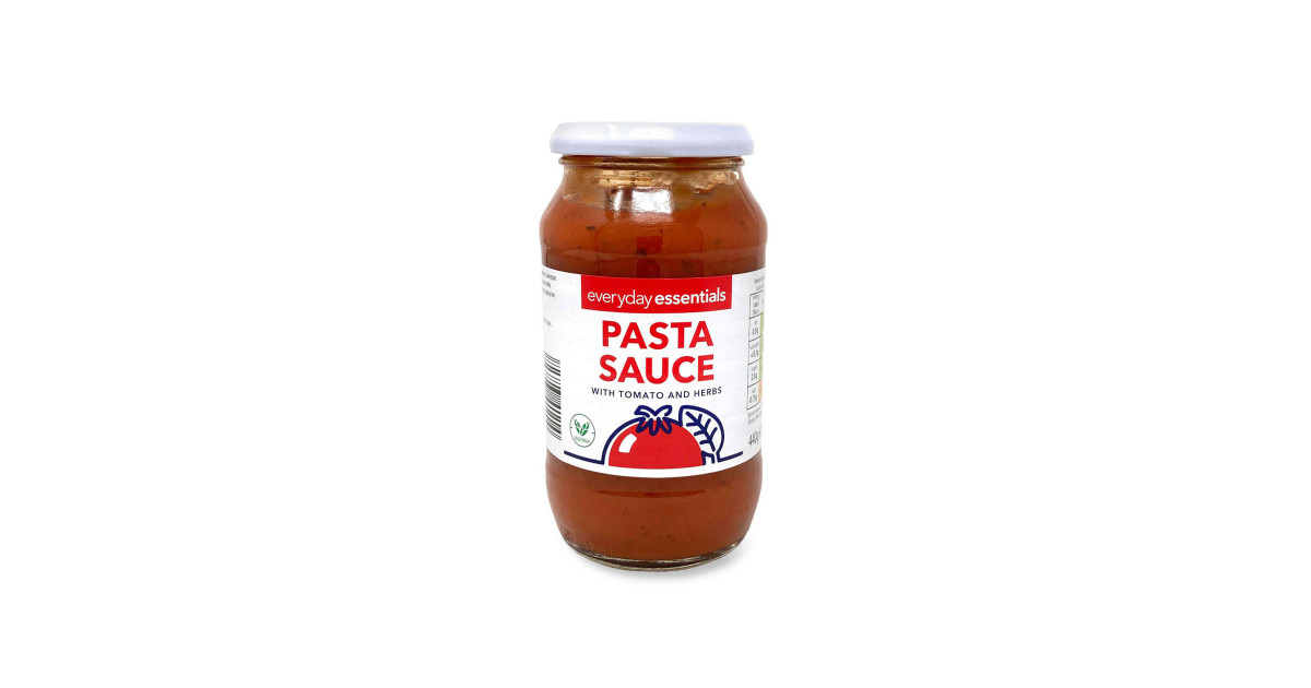 Pasta Sauce With Tomato And Herbs Aldi Uk