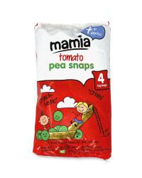 Tomato Pea Snaps