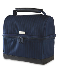 Tool Box Style Stripe Lunch Bag