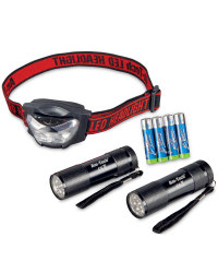Torch & Headlight Set