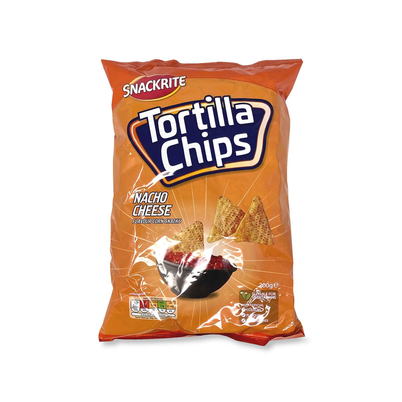 Nacho Cheese Tortilla Chips