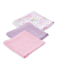 Toucan Muslin Cloths 3 Pack
