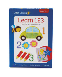 Touch And Trace Learn 123 Flashcards
