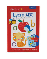 Touch And Trace Learn ABC Flashcards