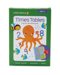 Touch And Trace Times Table Cards
