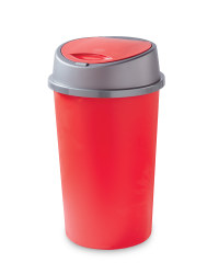 Easy Home 45L Touch Bin - Red