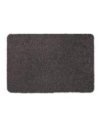Microfibre Washable Mat - Dark Grey