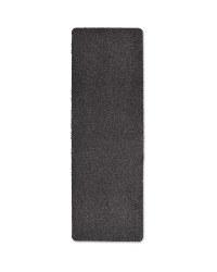 Microfibre Washable Runner - Dark Grey