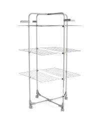 Easy Home Tower Airer - Grey