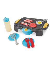 Little Town Toy BBQ Set
