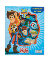 Toy Story 4 Stuck On Stories Book
