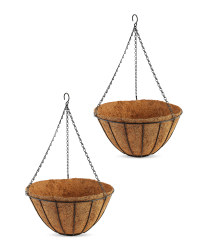 """14"""" Traditional Basket 2 Pack"""