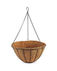 """14"""" Traditional Hanging Basket"""