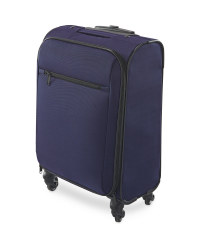 Cabin Size Navy Travel Case