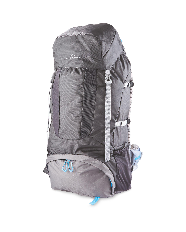 70l Grey Trekking Backpack Aldi Uk