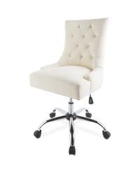 Kirkton House Cream Trend Desk Chair