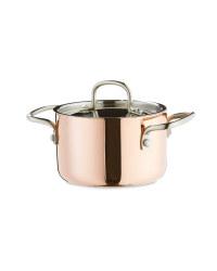 Tri-Ply Copper Mini Dutch Oven