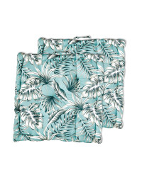 Tropical Boxed Seat Pad 2 Pack