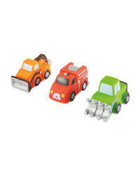Nuby Truck Bath Toys 3 Pack