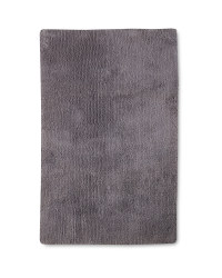 Tufted Luxury Bath Mat - Silver