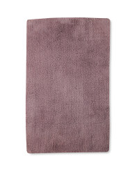 Tufted Luxury Bath Mat - Mauve