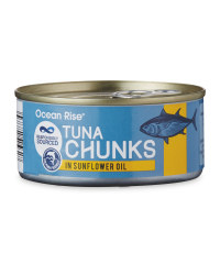 Tuna Chunks in Sunflower Oil