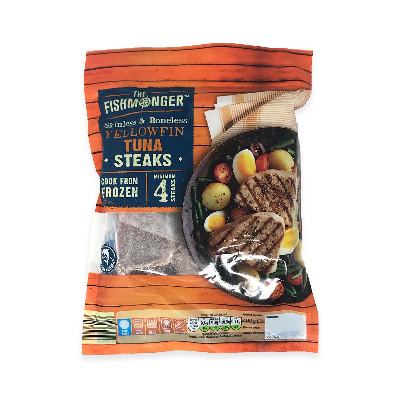 Boneless Yellowfin Tuna Steaks