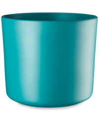 Turquiose Matte Ceramic Pot