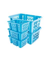 Turquoise Storage Basket Bundle