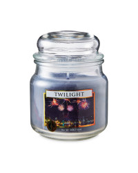 Twilight Glass Jar Candle
