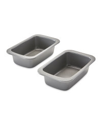 Steel Loaf Tin Twin Pack