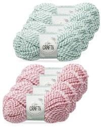 So Crafty Twisted Fancy Yarn 4-Pack
