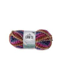 Twisted Fancy Yarn - Purple Heather