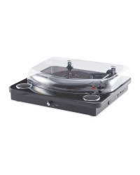 USB Turntable With Speakers