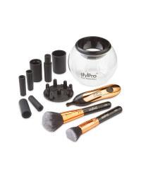 Stylpro Make Up Brush Care Set Rose