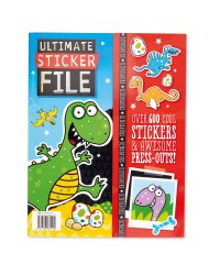 Ultimate Sticker File Dinosaurs