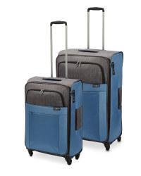 Ultra Light Blue Suitcase Set