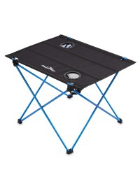 Ultra-Light Camping Table - Black/Blue