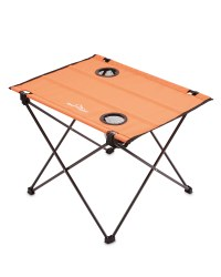 Ultra-Light Camping Table - Red/Black