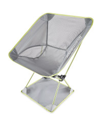 Ultra Light Camping Chair - Grey/Lime