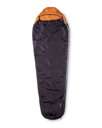 Ultra Light Left-Zip Sleeping Bag - Grey/Orange
